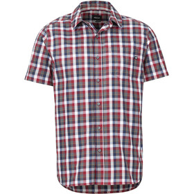Marmot Kingswest Chemise manches courtes Homme, sienna red